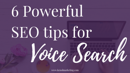6 powerful seo tips for voice search
